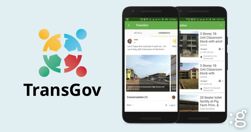 transgov logo, and screenshots on gharage.com
