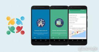 transgov app screenshots and logo on gharage