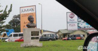 kwame nkrumah (ajib) roundabout in takoradi icode gharage
