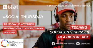 british council gew social thursday teching social enterprises in a digital age