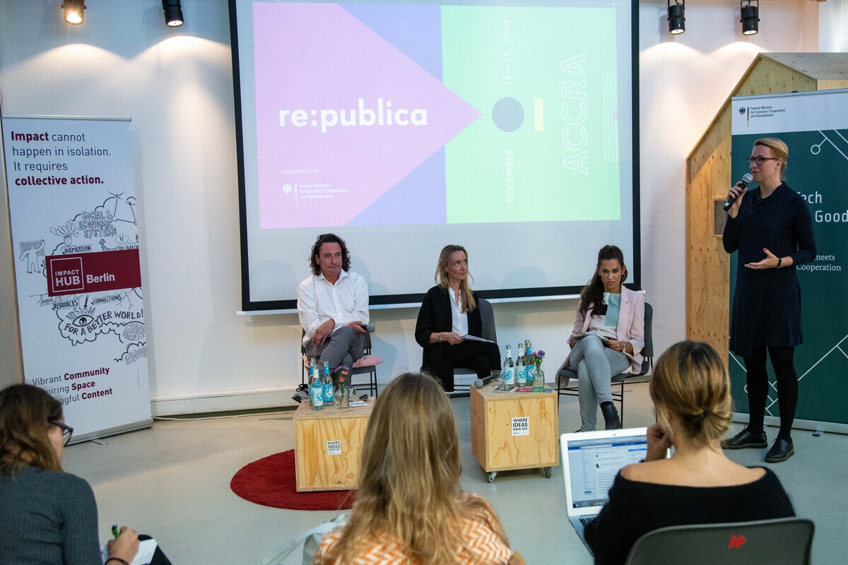 tech for good impact hub berlin re:publica accra 2018