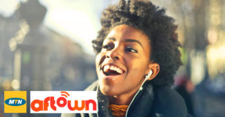 mtn aftown partnership music streaming gharage